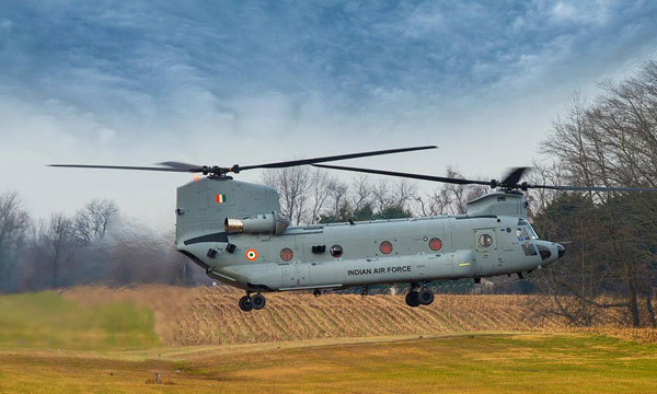 L'Inde réceptionne ses premiers Chinook