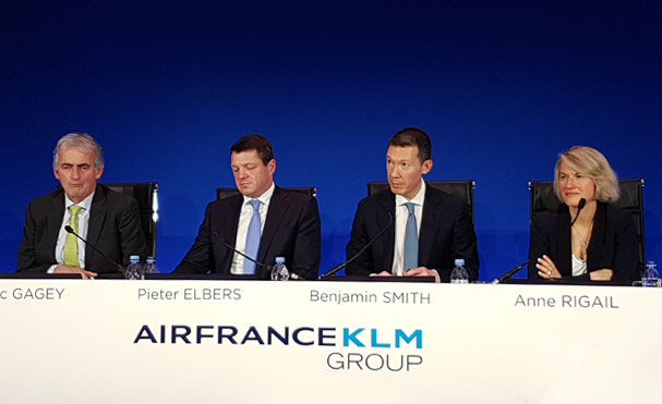 Air France-KLM va augmenter ses investissements en 2019, notamment pour la flotte d'Air France