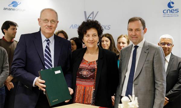 Le CNES et ArianeGroup préparent le futur des lanceurs avec ArianeWorks
