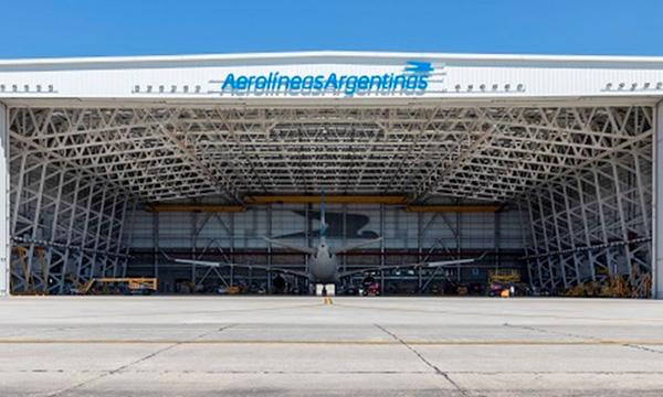 Aerolineas Argentinas digitalise ses installations MRO