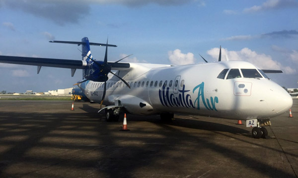 Manta Air relies on Rusada for its maintenance