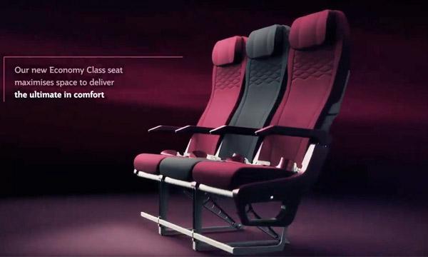 Qatar Airways présente sa nouvelle offre en classe économique