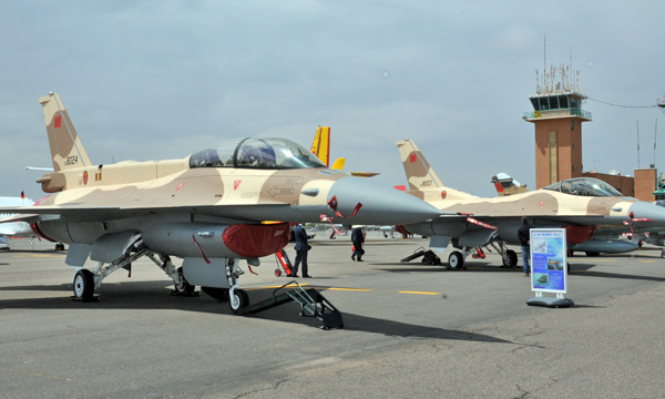 Le Maroc muscle sa flotte de F-16