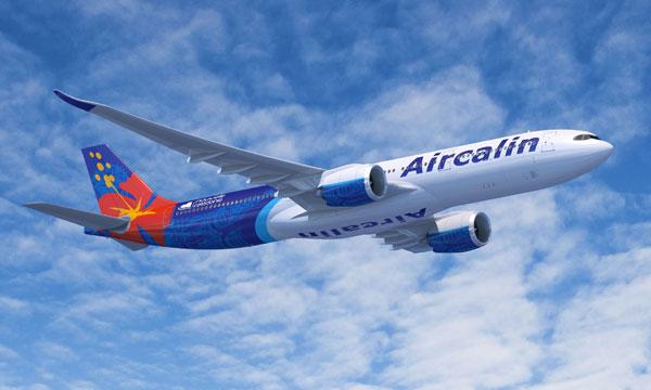 Aircalin présente la cabine de ses Airbus A330neo