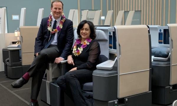 Hawaiian Airlines devient cliente de lancement d'Adient Aerospace