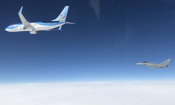 Eurofighter et Rafale au service de la police du ciel