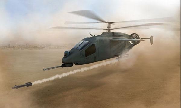 L3 et AVX présentent leur concept d'hélicoptère co-axial