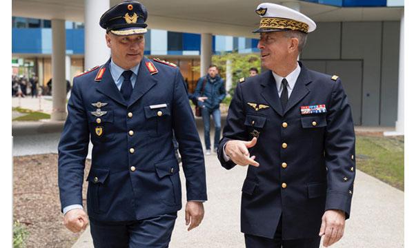 Rencontre franco-allemande pour les deux armées de l'air