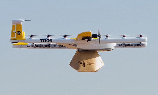 Première certification aux Etats-Unis d'un service de livraison par drones