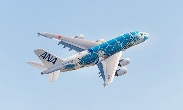 ANA présente l'intérieur de son Airbus A380