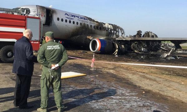 Les enregistreurs de vol du Superjet d'Aeroflot ont été récupérés