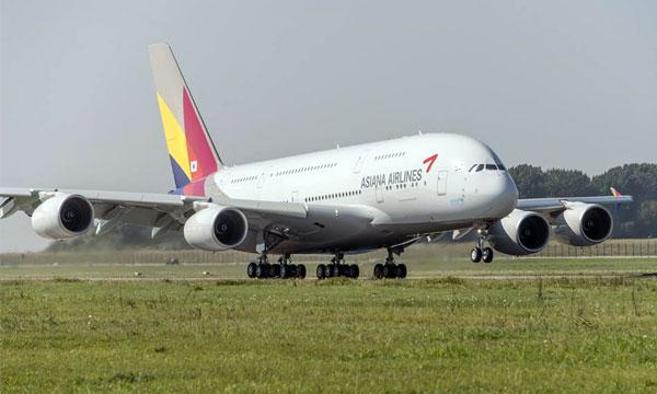 Asiana renonce à la première classe sur A380