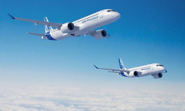 La famille A220 d'Airbus vient de gagner une heure d'autonomie supplémentaire