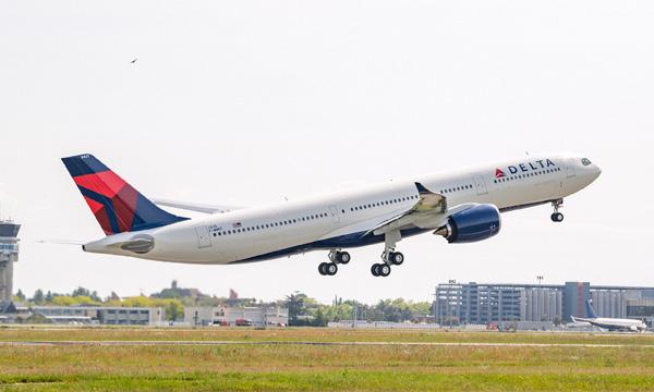 Les Airbus A330neo de Delta se préparent aux traversées du Pacifique