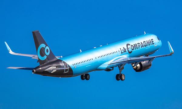 La Compagnie présente son Airbus A321LR et le lance sur le transatlantique