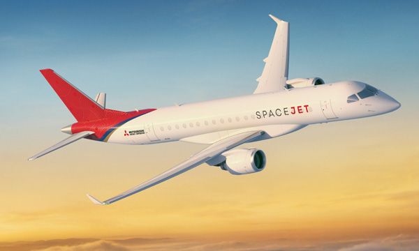 Bourget 2019 : Mitsubishi Aircraft Corporation lance le SpaceJet