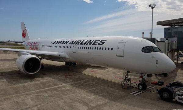 Japan Airlines accepte son premier A350 ... et son premier Airbus