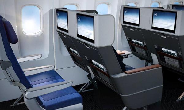 Lufthansa révèle son nouveau siège de Premium Economy