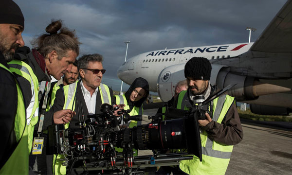 Air France Studio : Silence, on tourne !