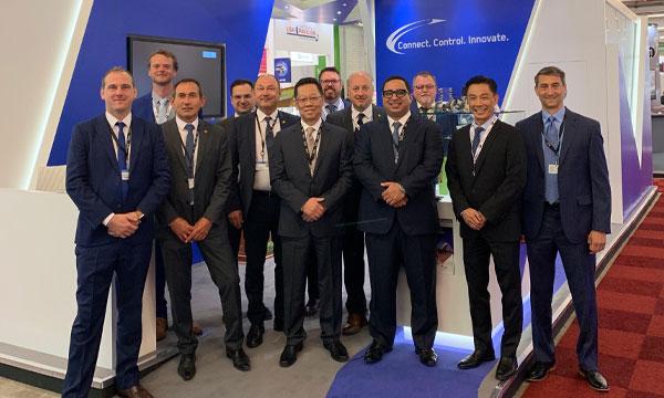 ITT Aerospace expose ses solutions au Bourget
