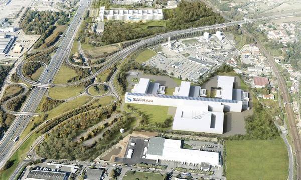 La nouvelle usine de freins carbone de Safran Landing Systems se pose au sud de Lyon