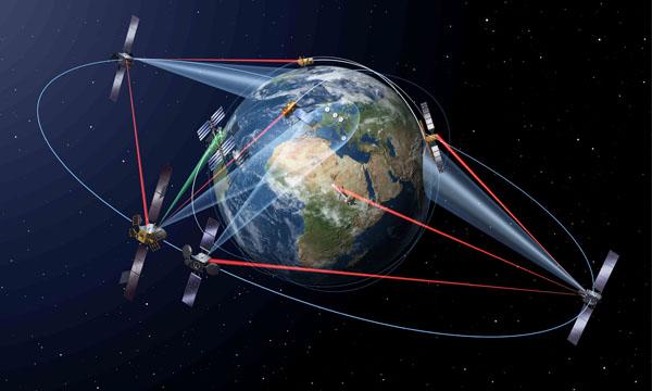 L'Europe présente son autoroute de données spatiales à l'export