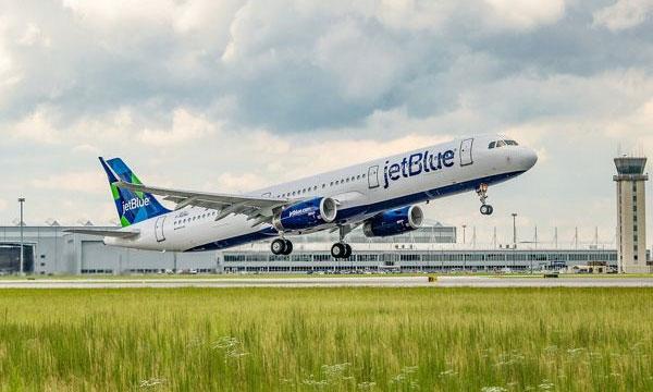 Le retard de ses Airbus A321neo ralentit la croissance de JetBlue