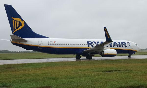 Ryanair voit ses coûts augmenter et son bénéfice baisser au premier trimestre
