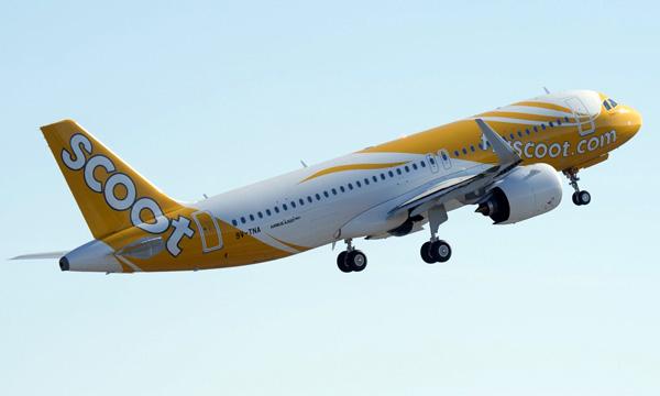 Scoot se convertit à l'Airbus A321neo