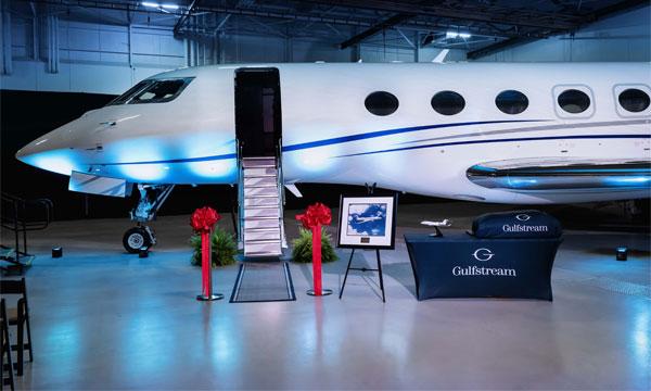 Gulfstream livre le premier G600