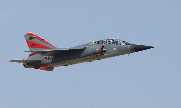 Le premier Mirage F1 d'ATAC s'envole aux Etats-Unis