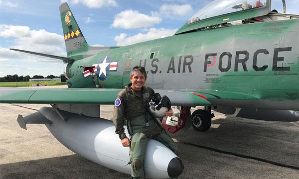 Meeting de Paris-Villaroche Air Legend édition 2019 : de la magie transsonique avec le F-86 E Sabre et Frédéric Akary