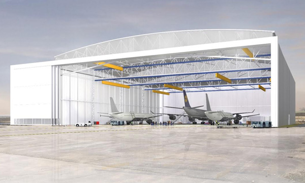 MRO: Châteauroux-Déols airport will have its giant hangar at the end of 2020
