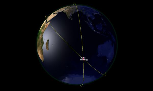L'ESA évite une collision avec un satellite de SpaceX