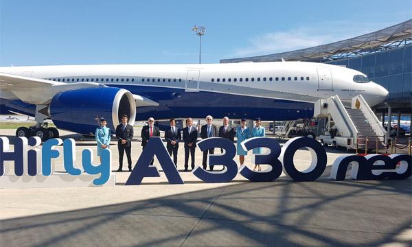 L'Airbus A330neo disponible en wet-lease avec Hi Fly