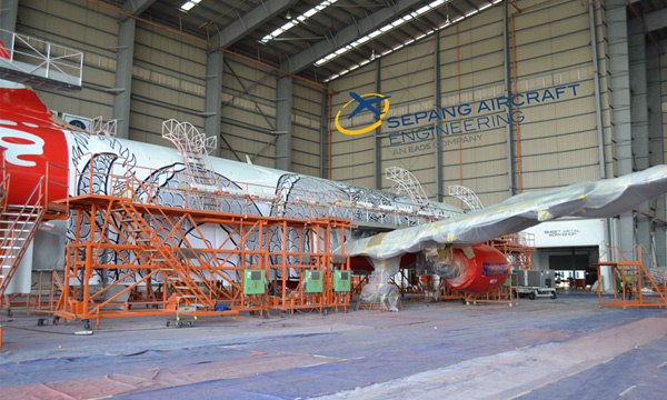 MRO : Airbus, AirAsia et Sepang Aircraft Engineering voient grand