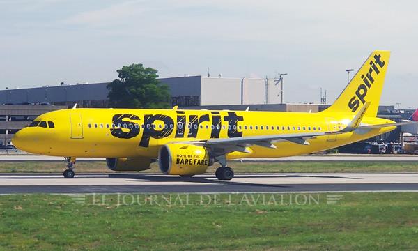 Spirit Airlines change ses sièges pour améliorer le confort de ses passagers