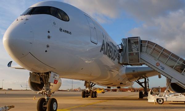 Airbus commence à tester sa cabine connectée à bord d'un A350