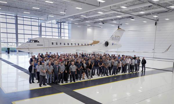 Bombardier obtient la certification des Global 5500 et 6500