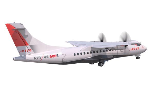 L'ATR 42-600S va bien voir le jour