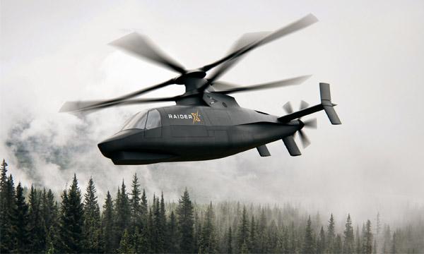 Sikorsky ajoute un X à son Raider pour l'US Army