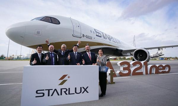 Starlux reçoit son 1er Airbus A321neo et vient tenir tête à Eva Air et China Airlines