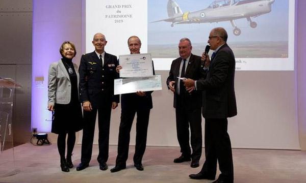 L'Aéro-Club de France décerne son Grand Prix du Patrimoine