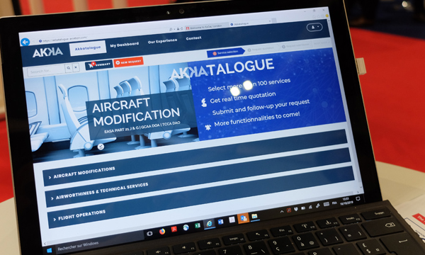 Your aircraft modifications in three clicks with the AKKAtalogue digital platform