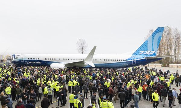 Boeing présente son 737 MAX 10