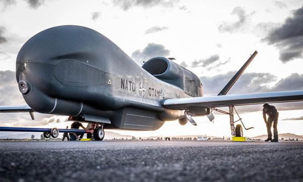 Livraison du premier Global Hawk de l'OTAN