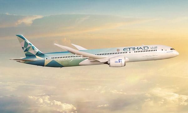 Environnement : Etihad et Boeing vont utiliser un 787 comme laboratoire volant