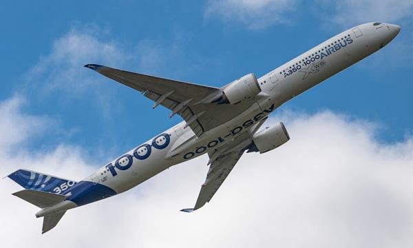 L'A350-1000 d'Airbus va pouvoir transporter plus de passagers