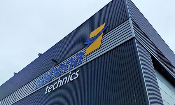 En images : tout sur le nouveau hangar de peinture de Sabena technics dédié aux Airbus A350 et A330