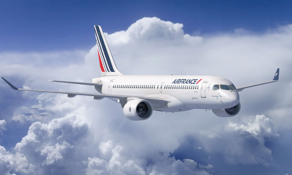 Air France confirme sa commande d'Airbus A220